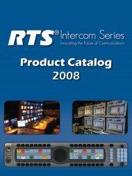 RTS® Product Catalog 2008 - AVC
