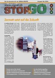 Zermatt setzt auf die Zukunft - Signal AG