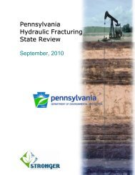 Pennsylvania Hydraulic Fracturing State Review - Natural Gas ...