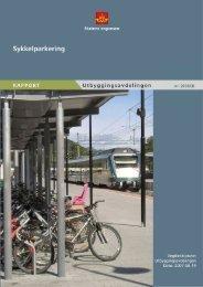 Sykkelparkering - Statens vegvesen