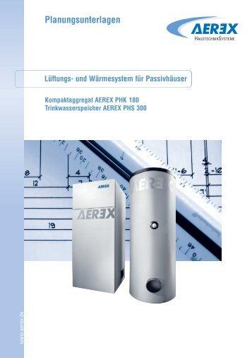 zur Planungsunterlage > AEREX PHK 180