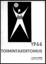TOIMINTAKERTOMUS - Urheilumuseo