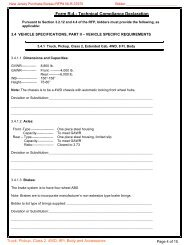 Technical Compliance Declaration