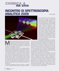 chimica & isa 2008 - Promedianet.it