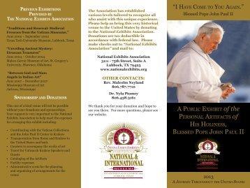 Vatican NEA brochure1