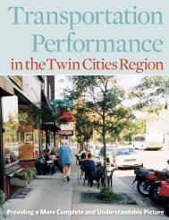 Transportation Performance in the Twin Cities Region - Transit for ...