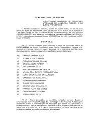 decreto - n°478-2012 - nomeia - Linhares