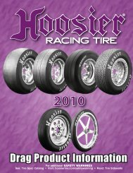 Hoosier drag tires - Hoosier Racing Tire