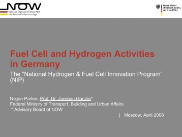 Hydrogen and Transportation