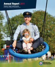 2011 annual report and accounts - RAF Benevolent Fund