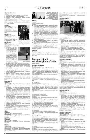 I Bureaux - Fondazione Mediterraneo