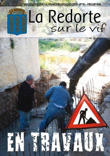 juillet 2008 - La Redorte