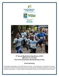 2012 Race for the Kids Event Recap - Big Brothers Big Sisters of ...