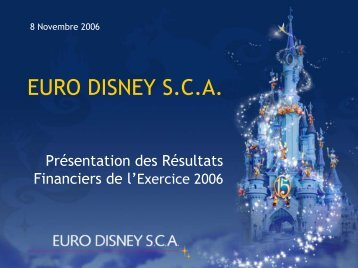 Télécharger - Euro Disney SCA