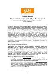 'Conoscenza per lo sviluppo: il ruolo della ... - Regione Calabria