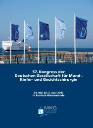 und Gesichtschirurgie - Deutsche Gesellschaft für Mund-, Kiefer