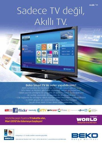 Sadece TV değil, Akıllı TV. - Beko