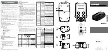 USV5MN0001B (User Manual SV5 RIELLO GB ... - Riello UPS GmbH