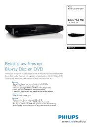 BDP2930/12 Philips Blu-ray Disc/DVD-speler
