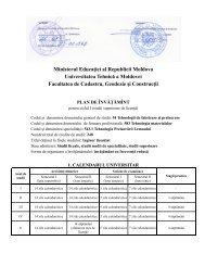 543.1 Tehnologia Prelucrării Lemnului - Universitatea Tehnică a ...