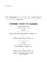 Regions Bank v. Baldwin County Sewer Service, LLC - Alabama ...