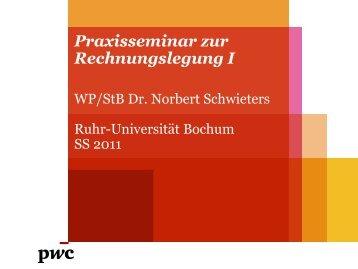 IAS 1 und Framework - Ruhr-Universität Bochum