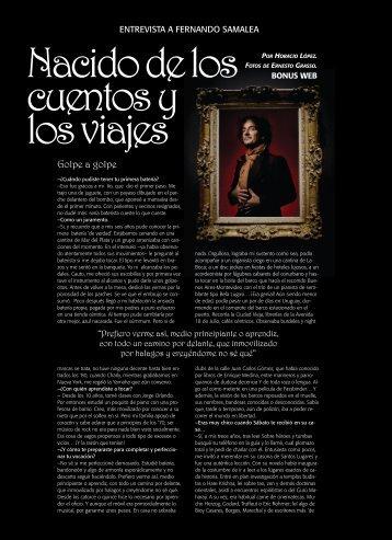 Leé más sobre Fernando Samalea - Revista La Central