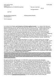 Verfassungsbeschwerde von Hans Georg Huber vom 2. Juni 2OO8