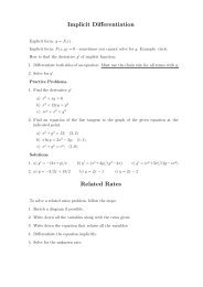 Implicit Differentiation Related Rates