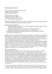 Prof. Renzo Boldorini - Università del Piemonte Orientale