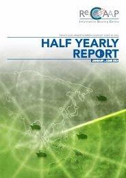 HALF YEARLY REPORT - ReCAAP