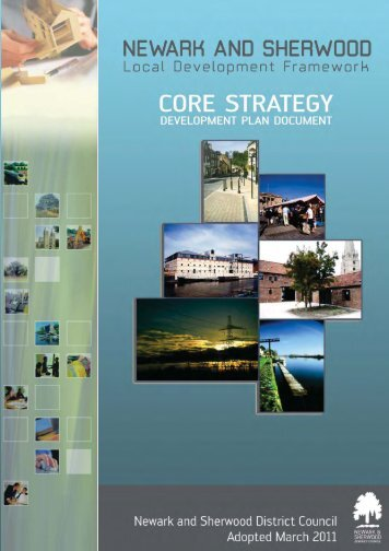 Core Strategy - Newark and Sherwood District Council