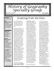 Volume 4, Issue 1 - Department of Geography | Home