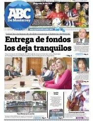 Entrega de fondos los deja tranquilos - Periodicoabc.mx