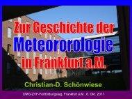 bei H.-W. Georgii - Goethe-Universität