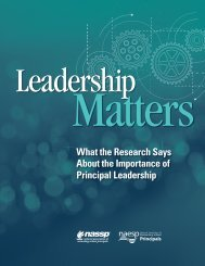 What the Research Says About the Importance of Principal Leadership