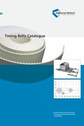 Timing Belts Catalogue