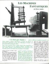 LES MACHINES FANTASTIQUES - Icem