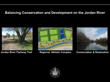 Balancing Conservation and Development on the Jordan River