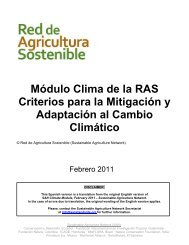 Módulo Clima de la Red de Agricultura Sostenible - Rainforest ...