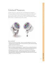 Color Burst Powercore - Philips Lighting