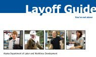 Layoff Guide - Alaska Job Center Network - State of Alaska