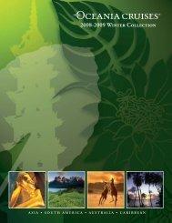 2008-2009 Winter Collection - Oceania Cruises