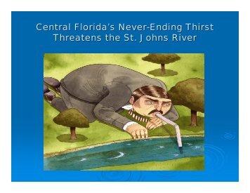 RiverKeeper - Withdrawal Power - Northeast Florida Regional Council