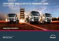 l'efficience dans le btp et le transport lourd. - MAN - MAN Truck & Bus
