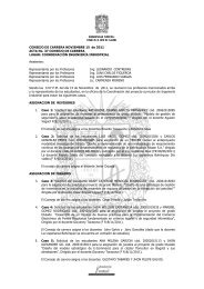 CONSEJO DE CARRERA NOVIEMBRE 15 de 2011 ACTA No. 37 ...