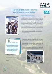 3 sisters adventure trekking and empowering women of nepal