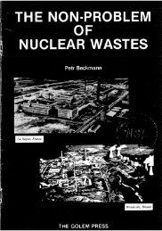 The Non-Problem of Nuclear Waste - StephanKinsella.com