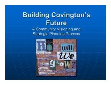 Building Covington's Future - The City of Covington