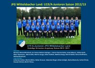 JFG Wittelsbacher Land: U19/A-Junioren Saison 2012/13
